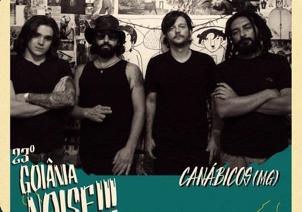 Canábicos: banda será uma das atrações do Goiânia Noise Festival