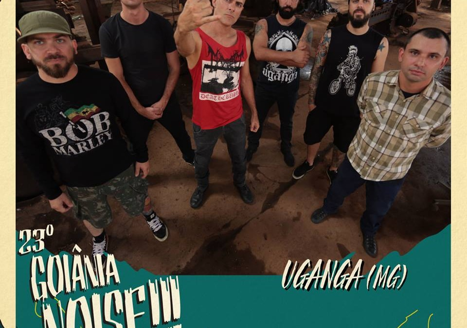 Depois de anunciar patrocínio do Wacken Foundation, Uganga é confirmado como atração do Goiânia Noise Festival