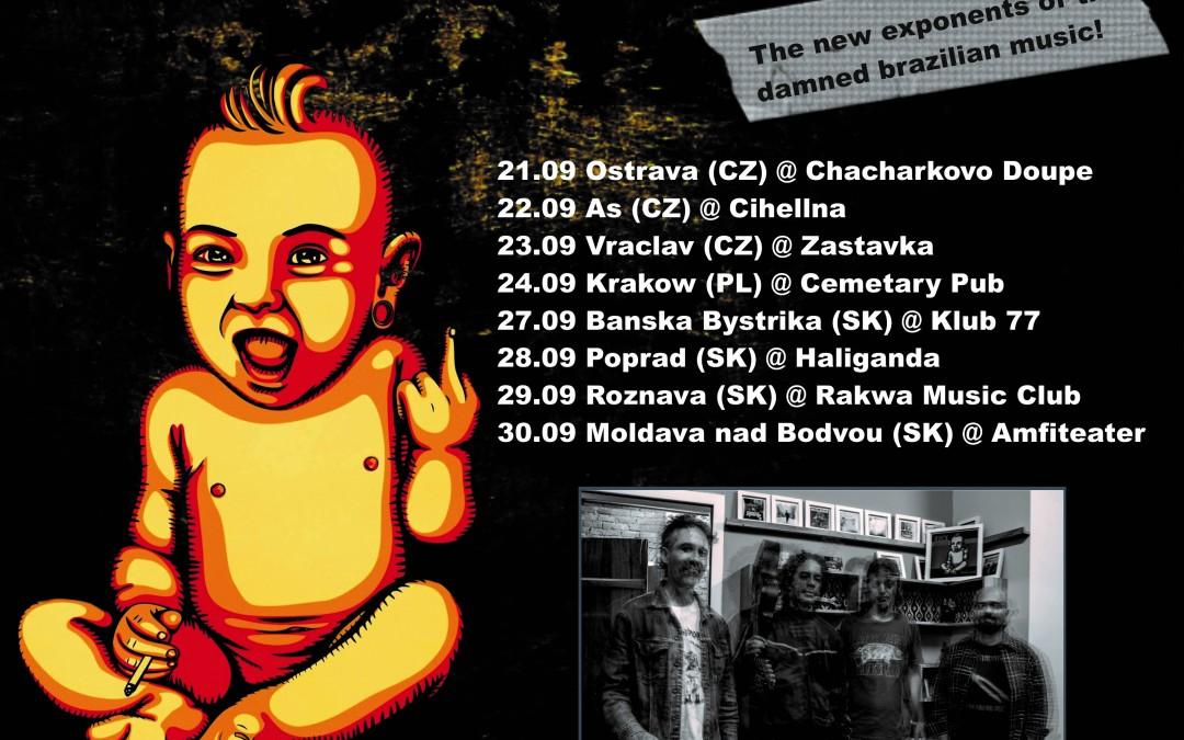 Seu Juvenal: banda já está na Europa para sua primeira turnê internacional