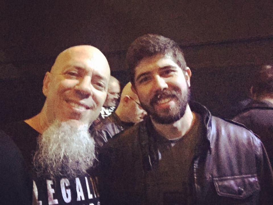 Neemias Teixeira e Jordan Rudess