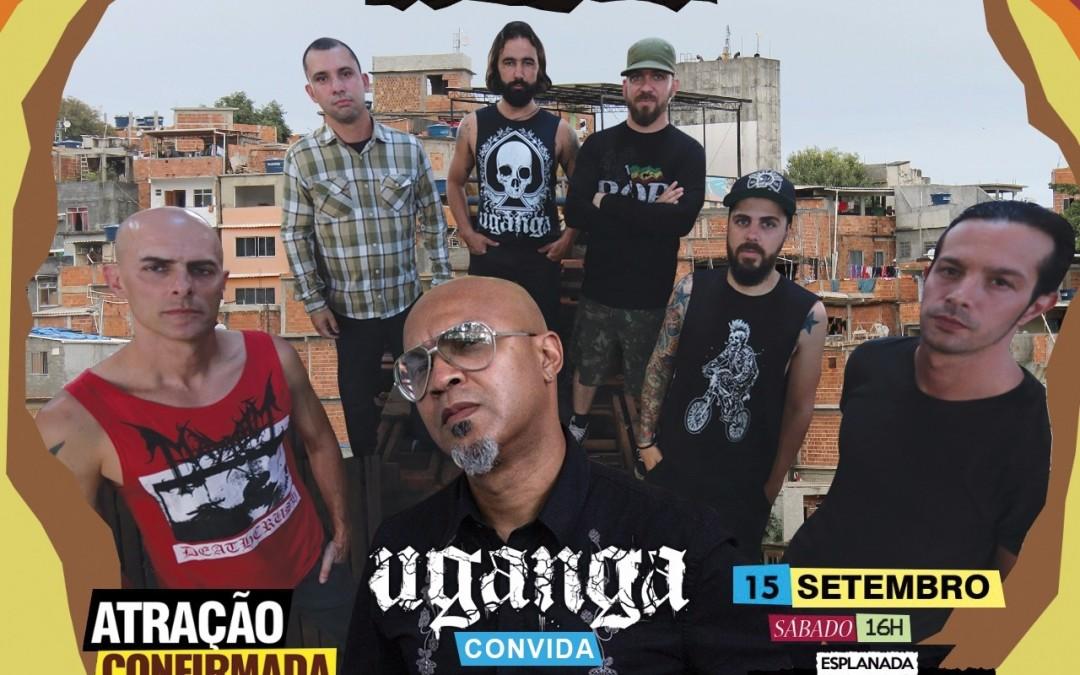 Paralelamente às gravações de novo álbum, Uganga cumpre agenda cheia de shows