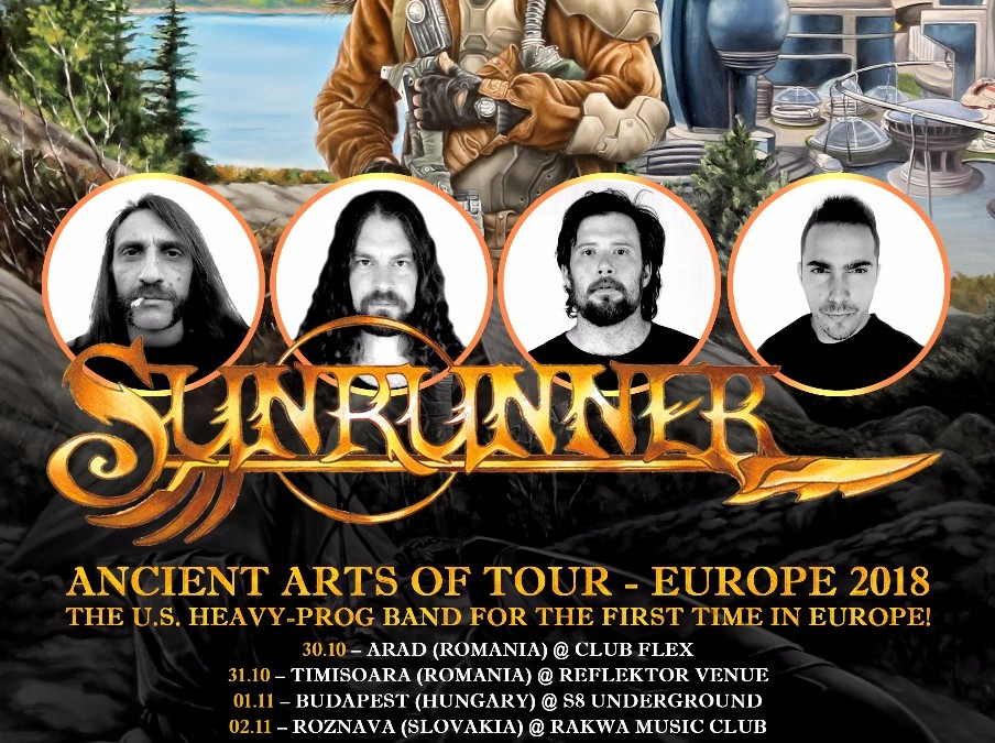 Sunrunner launches new lyric video and announces European tour