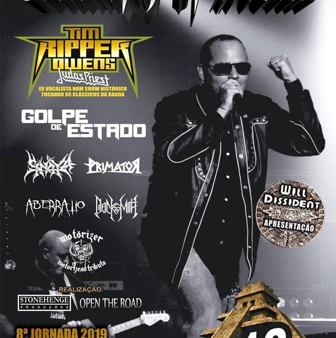 Primator será uma das atrações do Triumph Of Metal Festival nesta sexta-feira