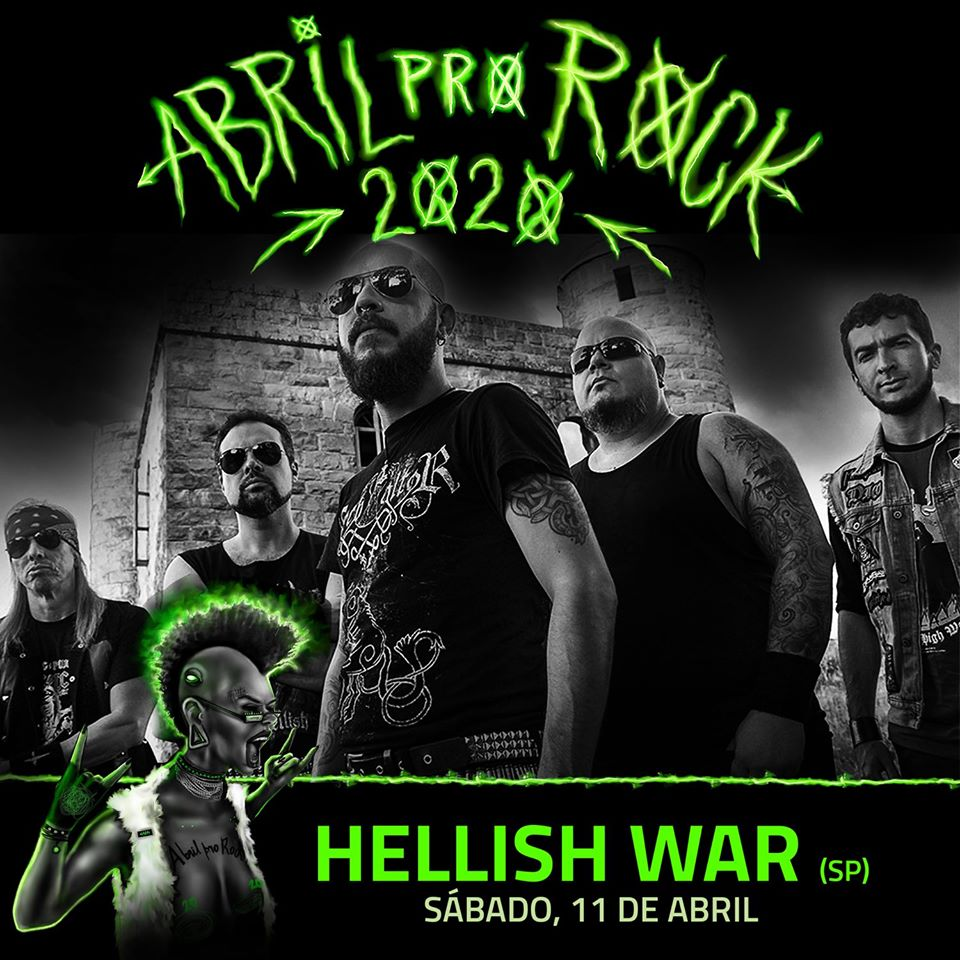 Hellish War_Abril Pro Rock