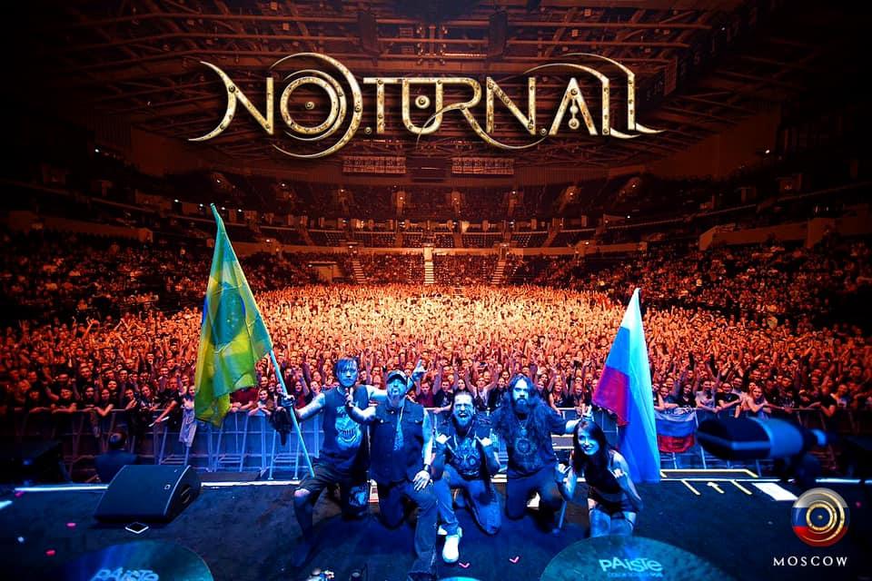 """Noturnall transmitirá ao vivo o DVD """"Made In Russia"""" no próximo domingo dia 03 de Maio"""