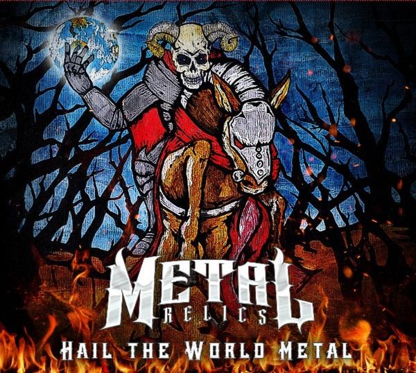 """Lançamento da Metal Relics, coletânea """"Hail The World Metal"""" reúne 23 bandas de 21 países diferentes"""