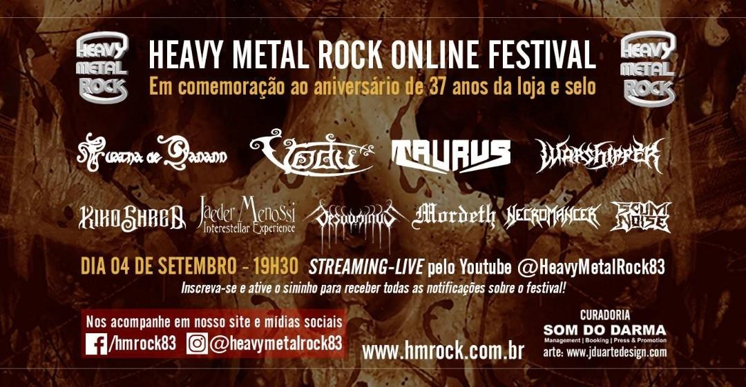 "Jaeder Menossi Interestellar Experience estreia em Setembro no ""Heavy Metal Rock – Online Festival"""