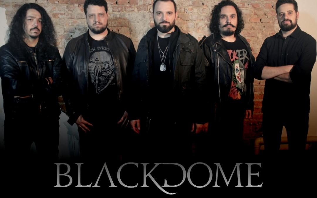 """Blackdome lança novo single mixado por Kevin Shirley na edição de Novembro do """"Roadie Crew – Online Festival"""""""