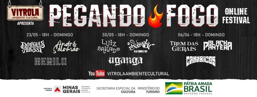 """""""Pegando Fogo Online Festival"""" pretende reunir o que há de mais relevante na cena musical contemporânea do Triângulo Mineiro"""