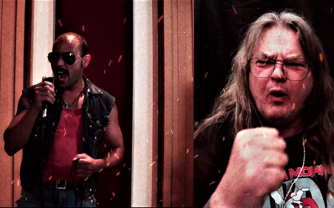 """Já disponível novo videoclipe do Brave de """"Power In Battle"""" com participação de Steve Grimmett, vocalista do Grim Reaper"""